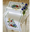 Summer Flowers Table Runner