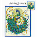 Swirling Peacock