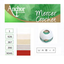 Anchor Mercer Crochet:マーサクロッシェ40番20g巻