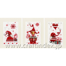 CHRISTMAS GNOMES SET OF 3
