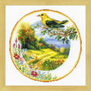 Plate with Oriole