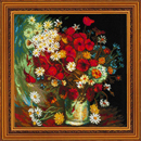 Still Life with Meadow Flowers and Roses/Van Gogh